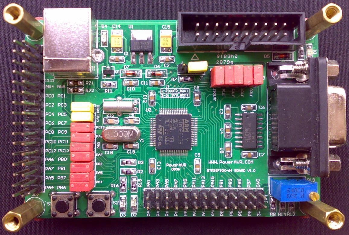 mini_stm32开发板(最小核心板)正式发布!