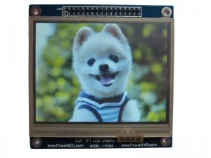 3.5寸TFT[320*240]24位色LCD显示模组 (支持触摸)