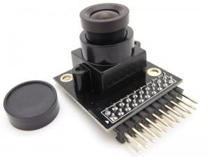 OV7670摄像头模块V2版,(带AL422 FIFO,2.8V LD0,24MHZ有源晶振)